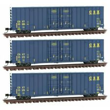 N Scale - Micro-Trains Line 993 01 860 Csx - Csxt High-Cube Boxcars 3-Pack