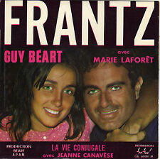 GUY BEART / MARIE LAFORÊT / JEANNE CANAVESE FRENCH ORIG EP LEO PETIT