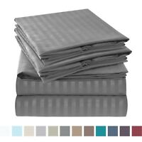 Jennifer Stewart 1800 Series 6 Piece Bed Sheet Set High-Quality Hotel Edition