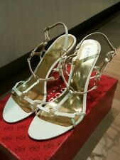 Patent Leather Slim Solid Heels for Women