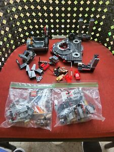 Lego star wars Minifigures and ship parts pre owned.