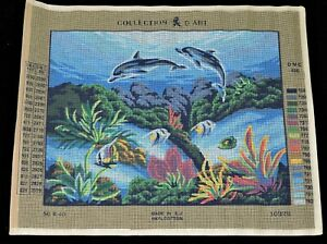•Collection d' Art Gobelin Needlepoint canvas #10326
