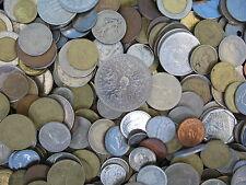 1 Kilo De Monedas Del Mundo no está llena de Usa/canada céntimos de más de 200 Monedas Free UK Post