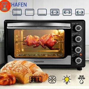 Heißluftofen Minibackofen Konvektomat mit Dampf und Grillfunktion inkl Blech DE