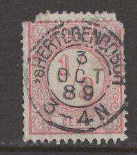 Nvph 30 II met Bossche tanding; datum 3 OCT 89