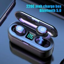 Bluetooth Earphones with Microphone Touch Control Wireless Earbuds Headphones