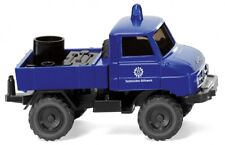1/87 wiking unimog u 411 thw technique action humanitaire 0693 24