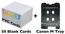 Inkjet PVC ID Card Kit M Tray Canon Pixma TS8020, TS8050, TS9020, TS9050, Others