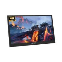 18.4/15.6 Inch HDR+4K Portable Monitor IPS For PS4PRO 1080P Lot