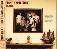 The Cooper Temple Clause - Let's Kill Music - Japan CD+1VIDEO - NEW