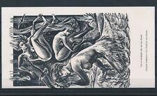 EX43102 EX Libris FRANK-IVO VAN DAMME nude women art fine x2