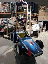 Antique coin operated Formula 1 Vintage Lemans Racing Car Amusement Kiddie Ride