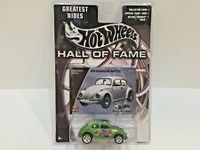 Hot Wheels VOLKSWAGEN BEETLE Diecast Toy Hall of Fame Greatest Rides 2002