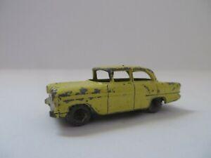 Matchbox 1-75 No .45 Vauxhall Victor Yellow Lesney Diecast England