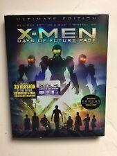 X-Men: Days of Future Past (Blu-ray, 2014, Digital HD 3D) NEW w/slipcover