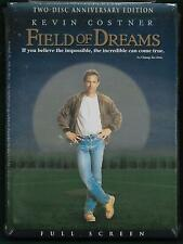 FIELD OF DREAMS [New 2-Disc DVD] Anniversary Edition KEVIN COSTNER