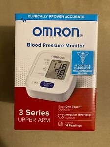 Omron Upper Arm Blood Pressure Monitor, 3 Series FAST FREE SHIPPING