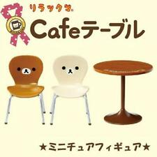 New Re-ment Miniature Figures Rilakkuma Cafe Table Chair Set Japan