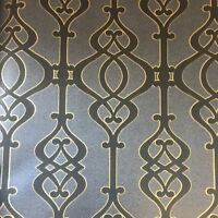 SOPHIE CONRAN BALUSTRADE WALLPAPER SLATE GREY AND BLACK 950604 FEATURE WALL NEW