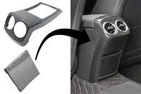 Rear Armrest Box Air Outlet Trim Cover for Mercedes A-Class W177 V177 18+ Carbon