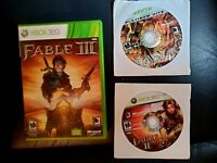 Fable Saga 3-Pack Xbox 360 Games Lost Chapters plus Fable 2 and 3 Bundle