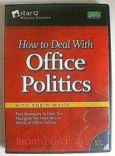 Cd How to Deal With Office Politics Robin White Star 12 Webinar Training