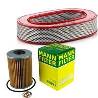 MANN-FILTER PAKET Luftfilter Ölfilter Mercedes-Benz Kombi S123 280 TE W123 E CE