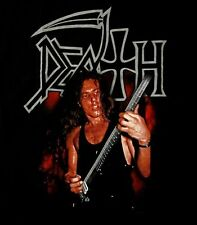 DEATH cd lgo CHUCK SCHULDINER Official SHIRT SMALL New lead singer photo