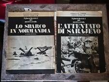 Domenica del corriere inserto storia 3 e 10 vintage