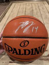 b7b8d4688 Brandon Ingram Autographed Signed Basketball FANATICS Los Angeles Lakers LA