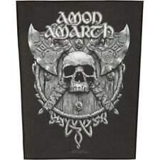 AMON AMARTH - AXES - BACK PATCH - BRAND NEW - MUSIC BAND 1021