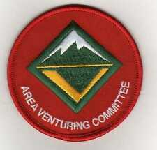 """Area Venturing Committee Position Patch (2008-Cur.), """"Scout Stuff"""" Backing, Mt!"""