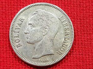 VICUSCOIN - VENEZUELA - SILVER - 2 BOLIVARES - YEAR 1936