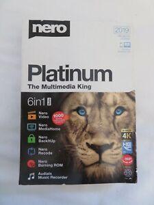 GENUINE Platinum The Multimedia King 6 in 1 Suite 2019 Unlimited License 1 PC