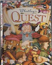 WHATLEY'S QUEST Bruce Whatley & Rosie Smith (HC 1994) KIDS PICTURE ALPHABET BOOK