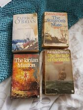 Patrick O'BRIAN. 3  AUBREY & MATURIN novels all in FIRST EDITION. Paperback