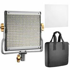 480 LED Dimmable Bi-Color Outdoor Video Light Panel with U Bracket with Bag