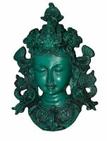 Tara Resin Wall Hanging Figure Tibetan Buddhist Tara Statue Idol Home Decor GTM1