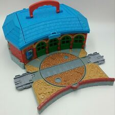 Thomas Friends Take Along Roundhouse Playset Learning Curve With Track Adapters