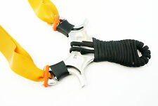 Dankung Toucan Paracord Wrap Hunting Slingshot Catapulte en acier inoxydable