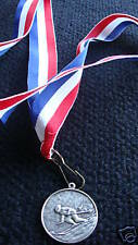 SNOW SKIING  MEDALS  w / RIBBON TROPHY  AWARD  TROPHIES  ##