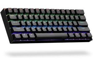 Obinslab Anne 2 Pro Black 60% Mechanical Keyboard Gateron Red Wired/Wireless (04