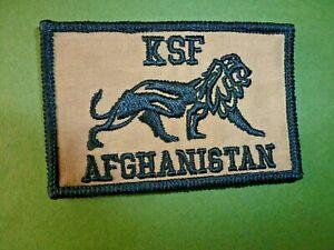 KSF Afghan Resolute Support