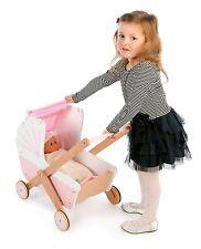 John Crane Spielzeug Holz Tidlo 3 in 1 Puppe im Kinderwagen
