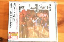 David Bowie Never Let Me Down CD Edition TOCP54080 Japan 10 Tracks
