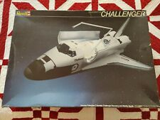 1/72 scale Revell space shuttle Challenger model kit with extra payload decals