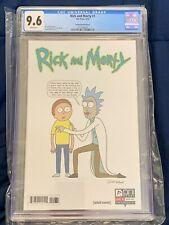 Rick And Morty #1 Justin Roiland 1:50 Variant CGC Graded 9.6 Oni Press
