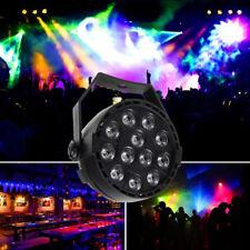 RGB 12LED Bühnenbeleuchtung DJ Disko Party Lichteffekt Stagelampe DMX Club Lampe