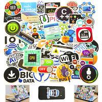Computer Stickers Skateboard Vinyl Decals Laptop Phone Decor Sticker 50 Pieces