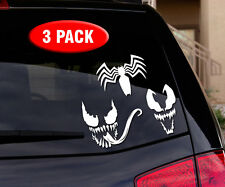 Venom Spiderman - 3 PACK - Vinyl decal sticker for car, truck, wall, laptop